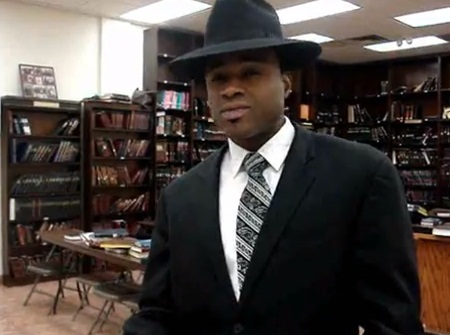 Yoseph Robinson (pictured) was gunned down in 2010 by Eion Klass at the MB Vineyards liquor store where Robinson worked.