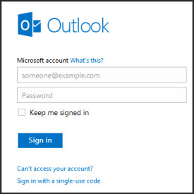 Msn email account sign in