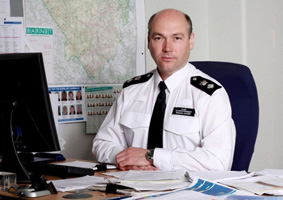 Chief Superintendent Adrian Usher
