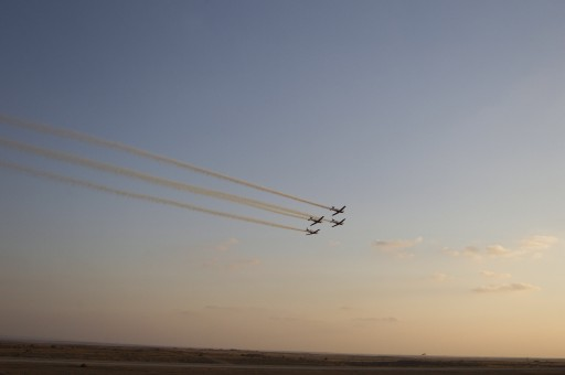 File photo of Israeli Air Force at the Hatzerim Air Force base, outside Beersheva. EPA/OLIVER WEIKEN