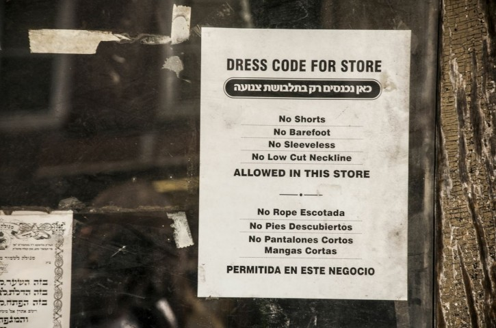 FILE - The sign posted at one of the stores on Lee Ave. in Williamsburg on June 30 2012. Photo: Stefano Giovannini/VINNews.com