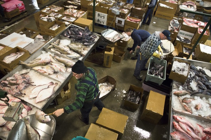 New York Freshest Fish Traded In The Dead Of The Nyc Night