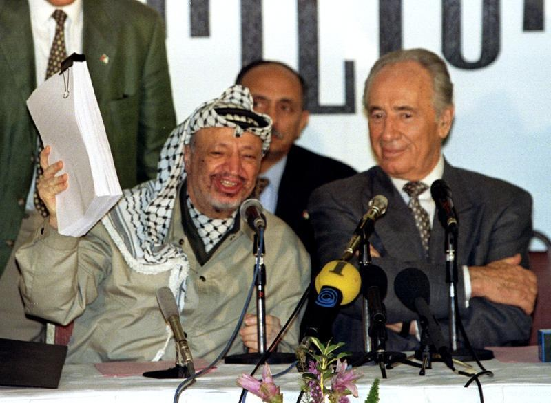 "arafat the oslo accords All three entities are currently led by abbas, the 82-year old successor to yasser arafat,  as early as may 10, 1994, arafat told south african muslim leaders that the oslo accords ""fell into the same category as."