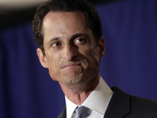 FILE - U.S. Congressman Anthony Weiner, D-NY, addresses a news conference in New York,  Monday, June 6, 2011. AP