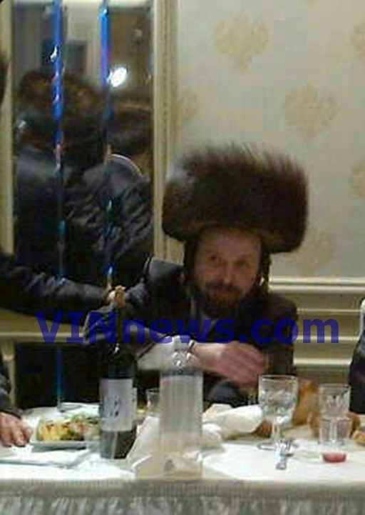 Undated photo shows Moshe Stern at a family Simcha. Photo courtesy