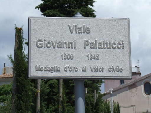 A road named after Giovanni Palatucci.