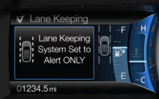A camera can follow the road and gently nudge a car — using the brakes — to stay in the center of a lane. These systems — dubbed Lane Keep Assist — are available on most Mercedes-Benz vehicles as well as the Ford Fusion, Ford Explorer, Toyota Prius, Lexus GS and Lincoln MKZ.