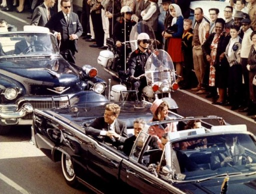 President John F. Kennedy. President and Mrs. John F. Kennedy, and Texas Governor John Connally ride through Dallas moments before Kennedy was assassinated, November 22, 1963. Reuters