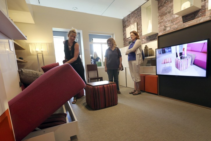 new york nyc museum exhibit shows virtues of living small