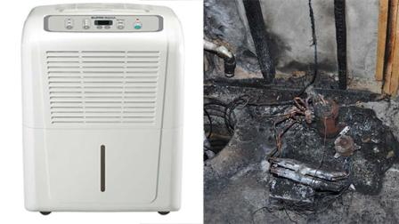 Washington - Over 2M Dehumidifiers Recalled, Reports Of