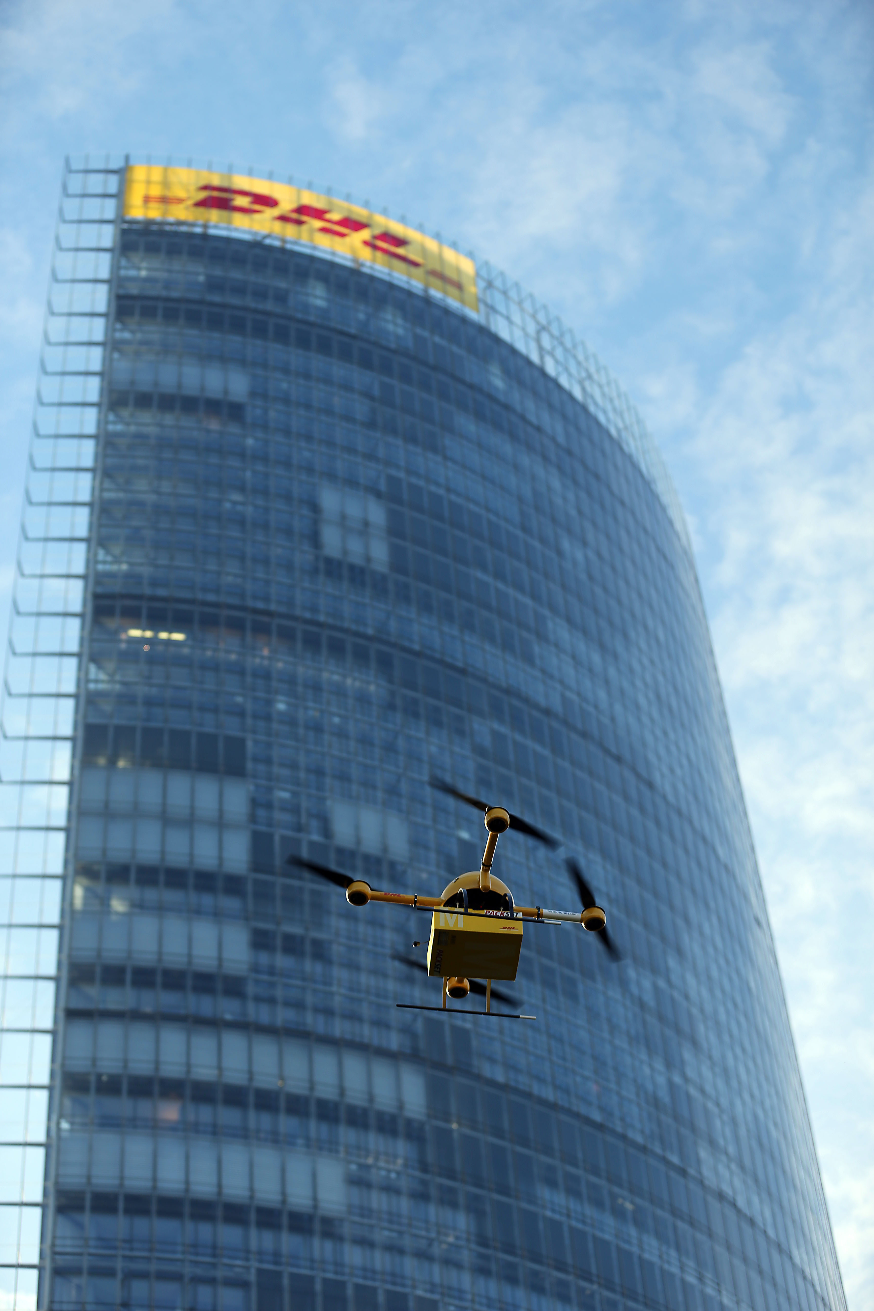 drone deliveries with Frankfurt German Firm Testing Drones To Deliver Goods on The Delivery Drones Are Now Available From Pre Flight also Ups Global Growth 091216 additionally Deploying Drones Self Driving Trucks furthermore Hedonism furthermore Switzerland Swiss Post Ground Robot.