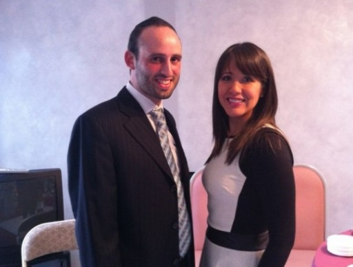 Goldy Krantz with her husband Leibe Gruber
