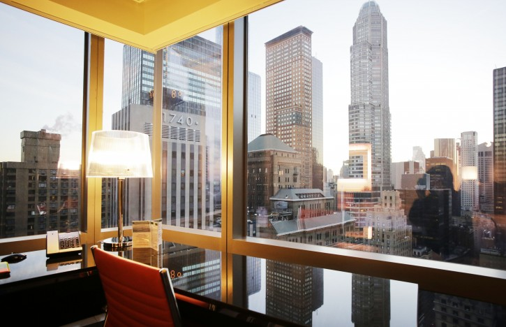New york nyc marriott claims tallest hotel in north america for Residence a manhattan new york