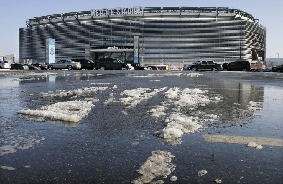 03d60b07893 East Rutherford - Super Bowl Turns Spotlight On New Jersey
