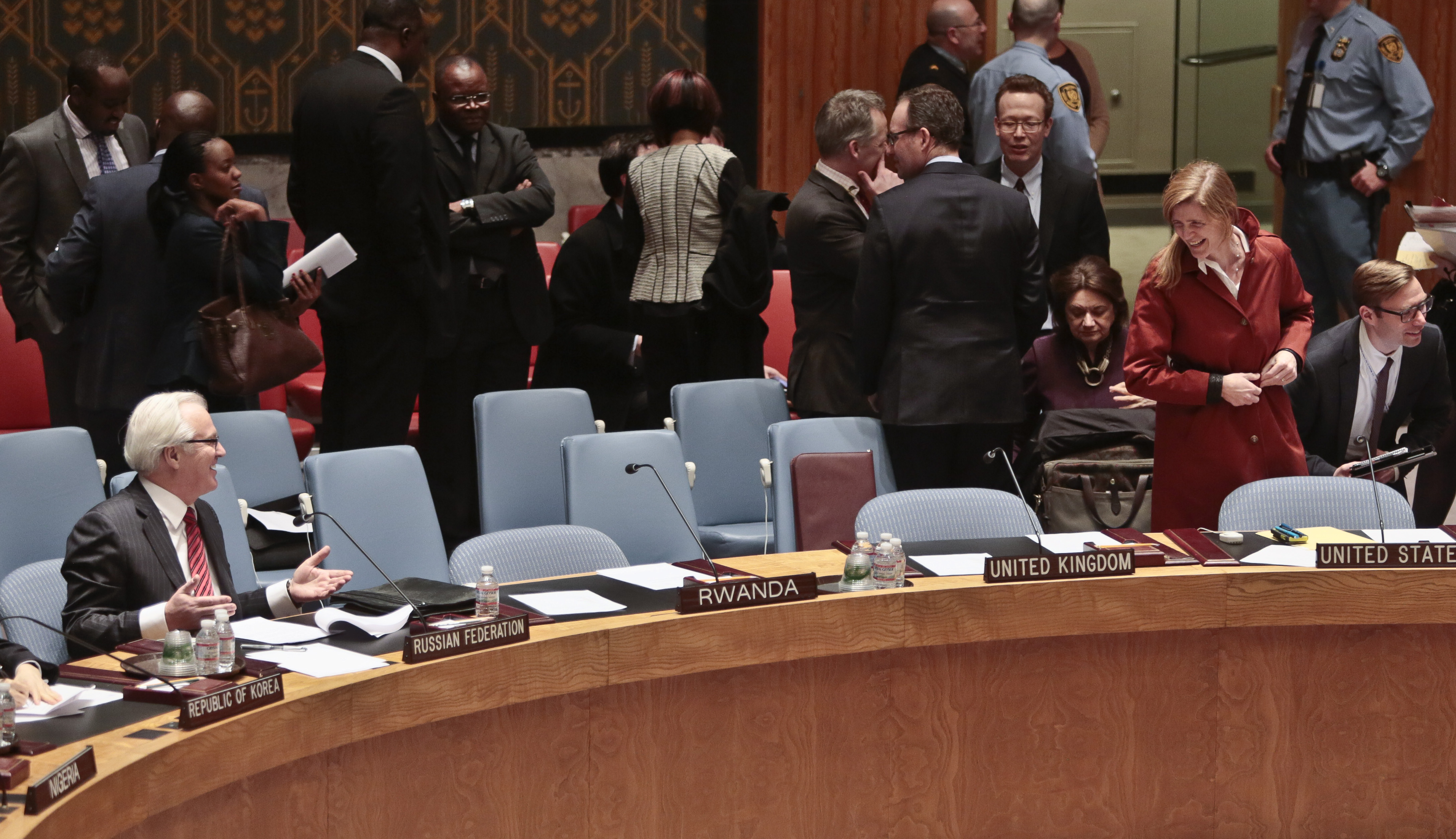 United Nations - US, Russia Exchange Threats At Tense UN ...
