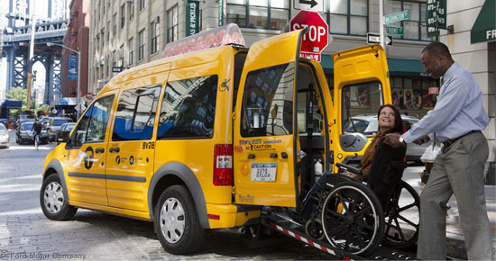 New York, NY - NYC Plans Taxi Accessibility Surcharge - Vos