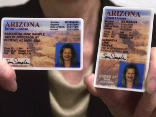 Wrong Phoenix Driver's Photos On Glitch Licenses Arizona Generates -