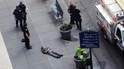 new york even as shootings rise murder rate falls in new york city