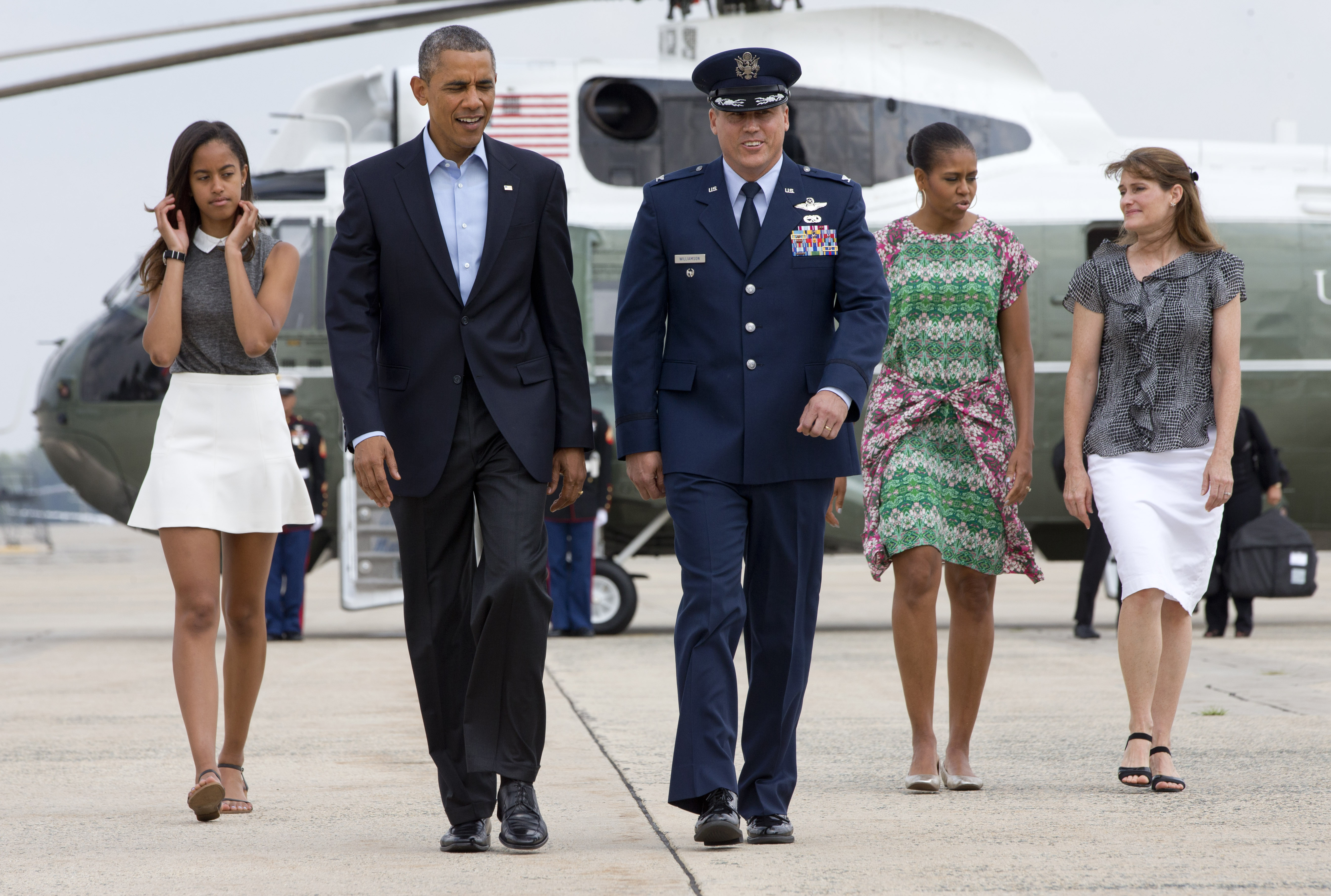 obama on his daughters dating Malia obama interned for the here are some of the things president barack obama's two daughters, malia malia's dating and smoking reports go.