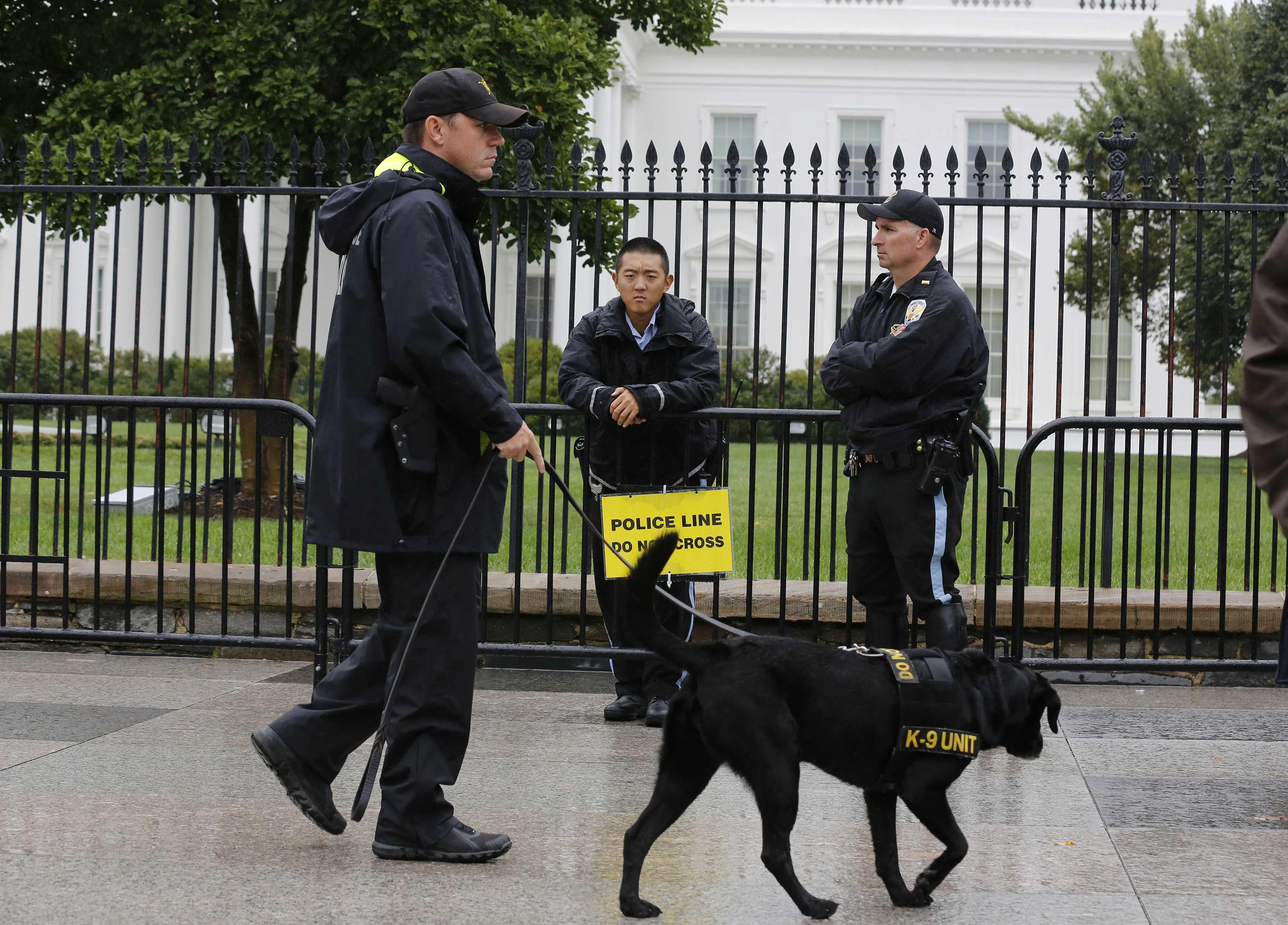 Washington Prospect Of Tighter White House Security