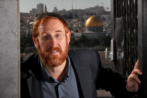 FILE - Rabbi Yehuda Glick is Chairman of the Foundation for the Heritage of the Temple Mount. Feb 27 2012. PHoto by Yossi Zamir/Flash90