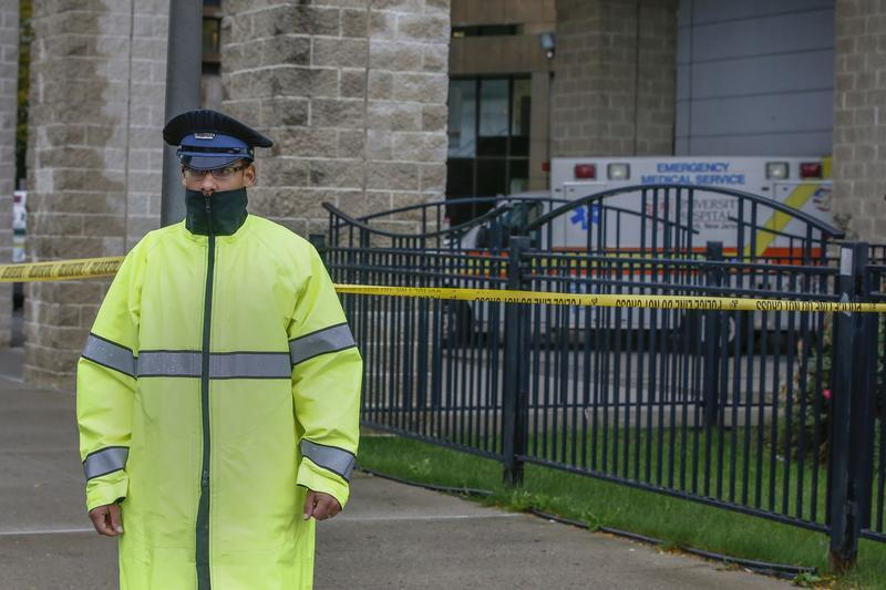 Newark, NJ - Ebola Medical Worker Quarantined In New Jersey Tests