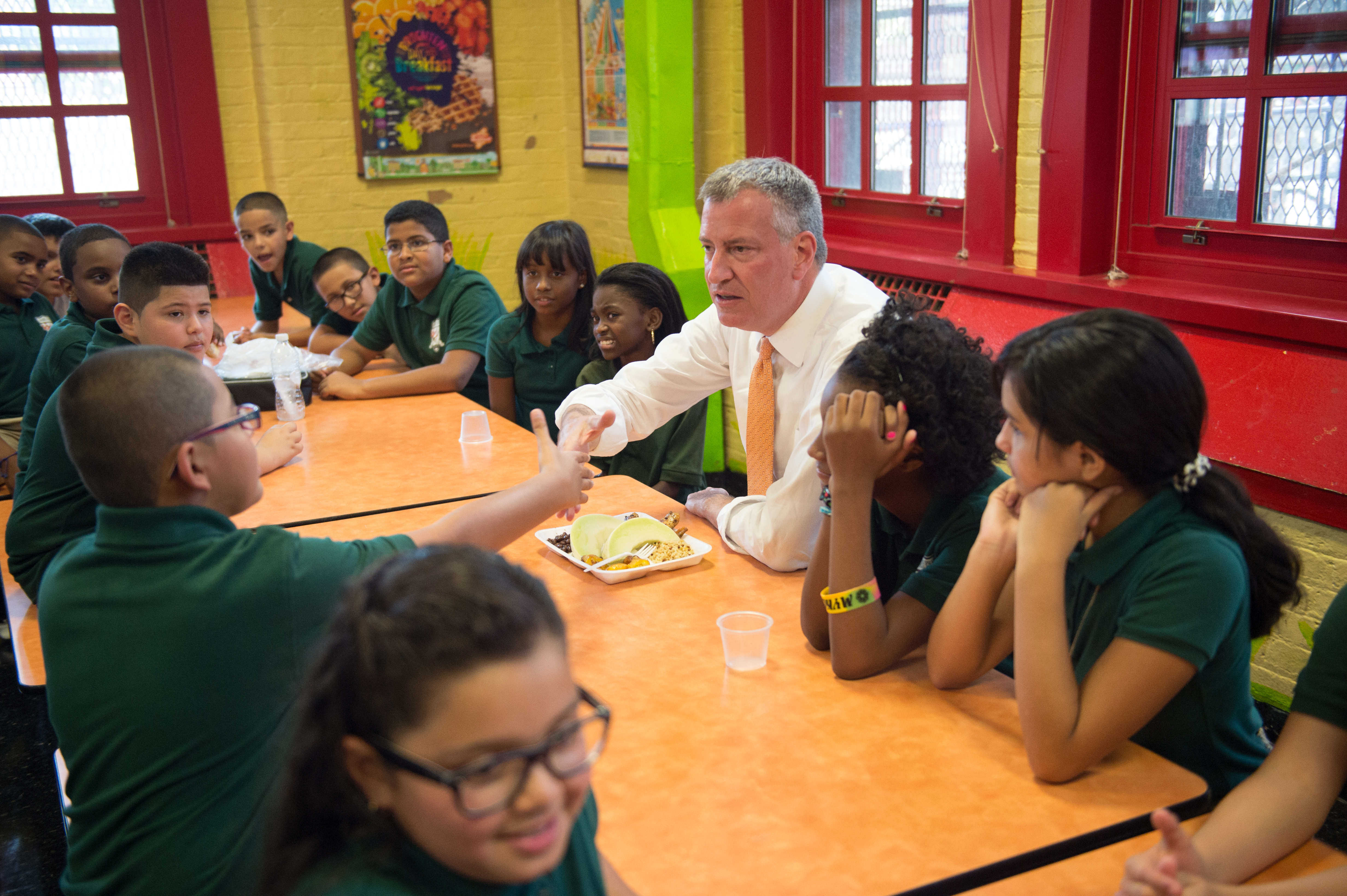 the improvement for the disabled students by mayor de blasio De blasio now demands change: we must be sure that the very best high  schools are open to  every kind of new yorker the student bodies.