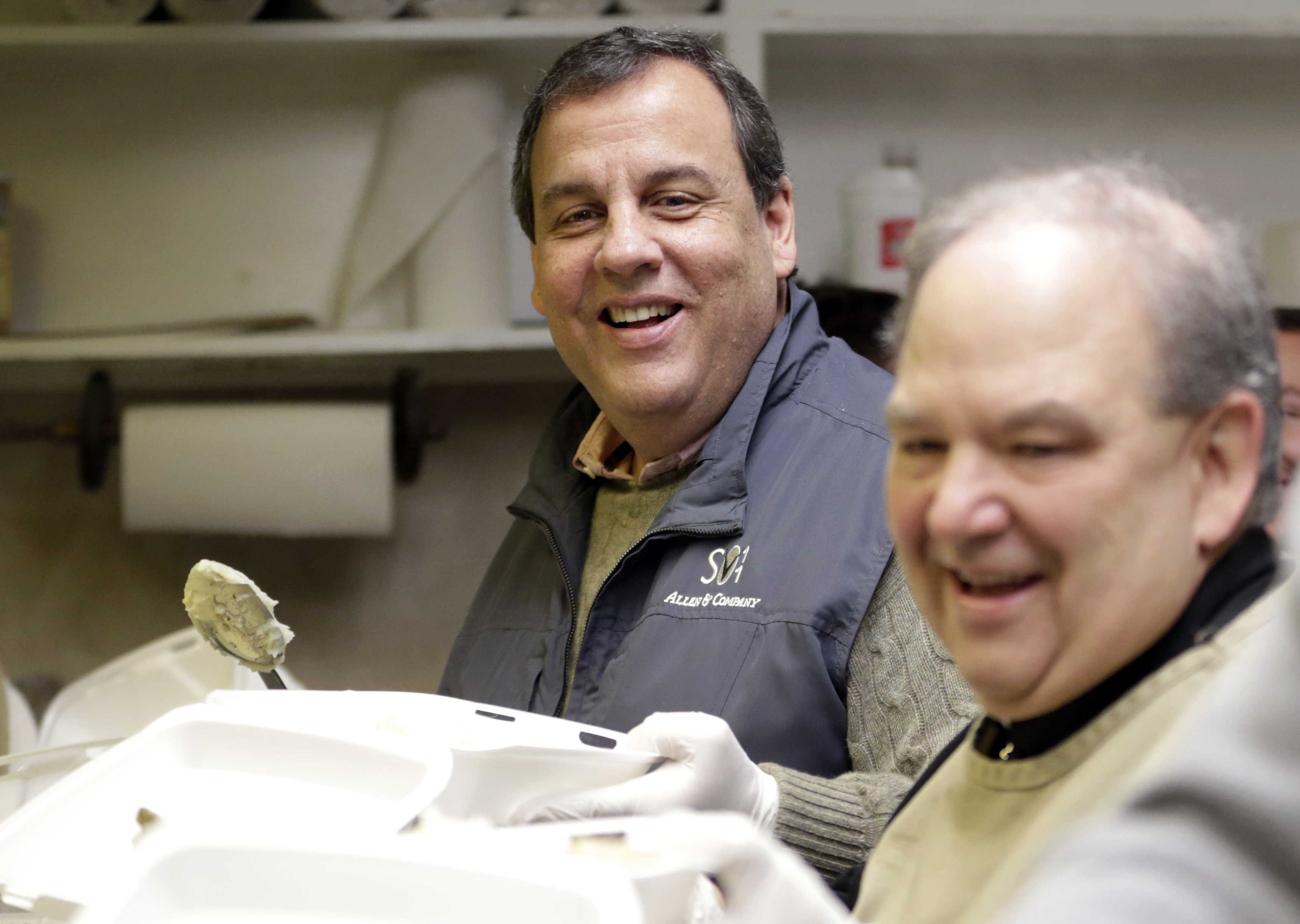 newark nj christie tells what goes into his mashed potatoes