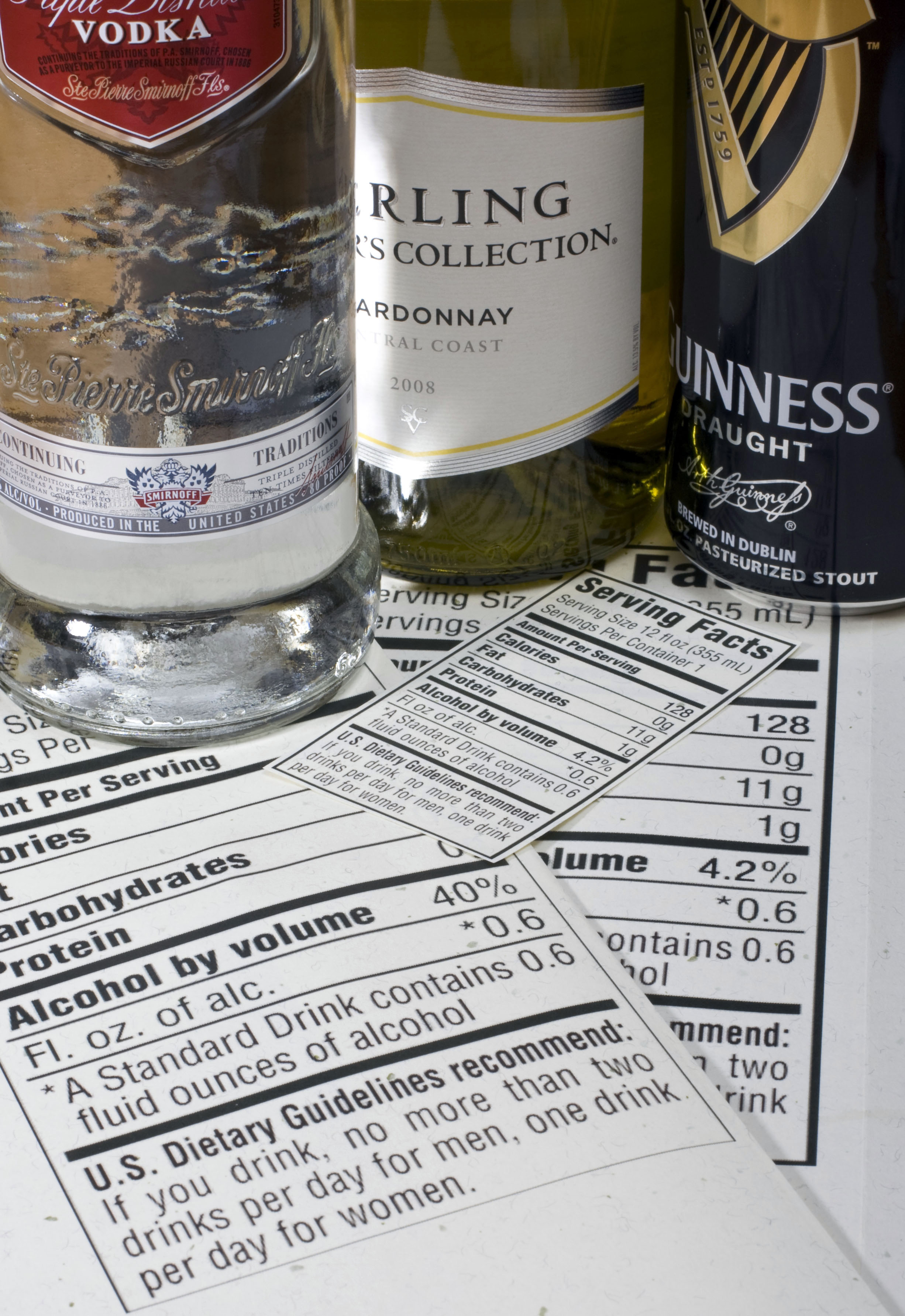 Washington alcohol calorie counts to be on menus by next for Calories in craft beer