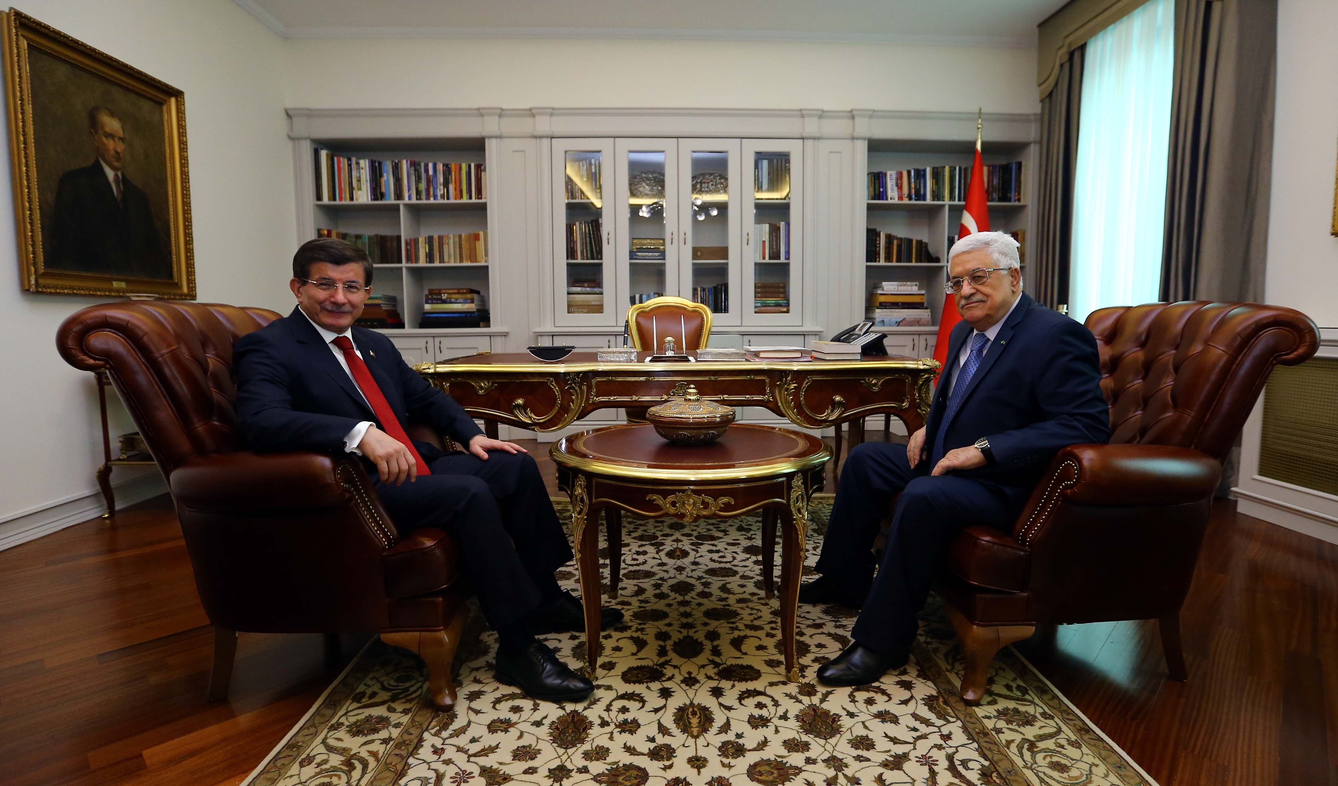 turkey home office. Palestinian President Mahmoud Abbas (R) Meeting With Turkish Prime Minister Ahmet Davutoglu (L Turkey Home Office U