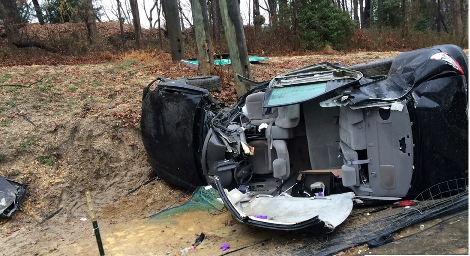Yisroel Schachner Was Driving The Black Toyota Camry When It Ran Off The  Road, Struck