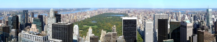 View of Central Park from Rockefeller Center.<br /> (Photo by Martin St-Amant via Wikimedia Commons)