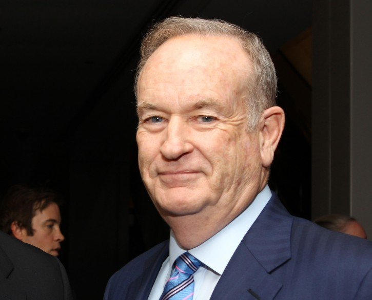 """FILE - In this Oct. 28, 2013 file photo, political commentator Bill O'Reilly attends the National Geographic Channel's """"Killing Kennedy"""" world premiere screening reception at The Newseum, in Washington. O'Reilly, Fox News Channel's prime-time star, is accused of claiming he had reported in a combat zone for CBS News during the 1982 Falklands War when he was more than a thousand miles from the front. (Photo by Paul Morigi/Invision/AP, File)"""