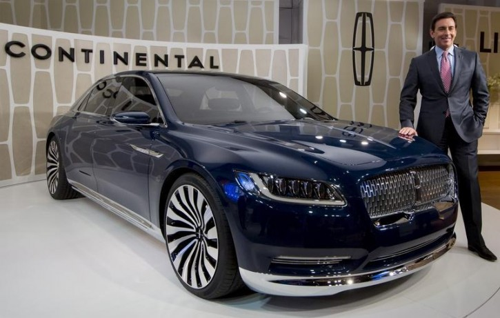 dearborn mi lincoln continental the car of presidents is returning. Black Bedroom Furniture Sets. Home Design Ideas