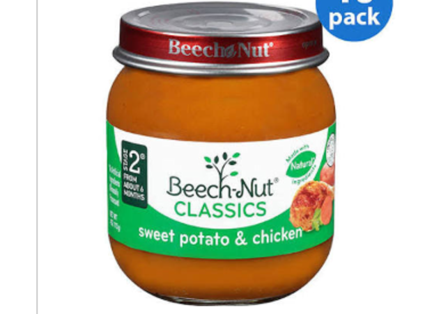 New York Beech Nut Baby Food Recalled Over Fear Of Glass Contamination