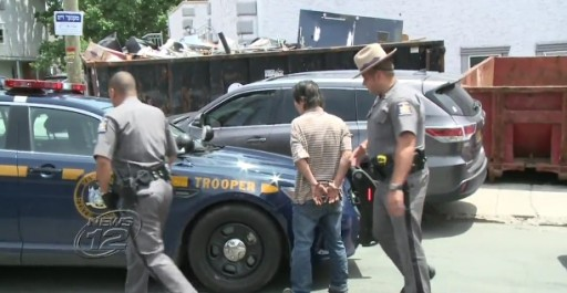 Jae Kyung Lee arrested by NY State Police (Courtesy News 12)