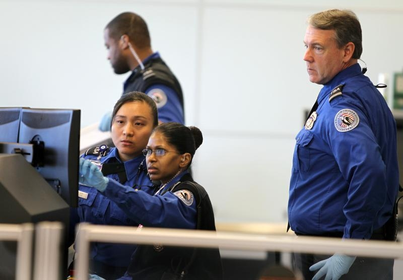 a - Transportation Security Officer