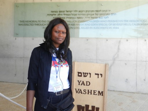FILE - In 2011 Assemblywoman Rodneyse Bichotte at the holocaust museum Yad VAshem in Israel