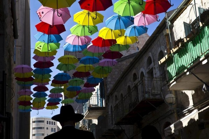 Israel – Jerusalem Municipality Seeks To Draw Crowds To Capital In Whimsical, Cheery Fashion
