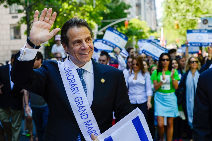 FILE - New York City - Governor Cuomo marches in Celebrate Israel Parade (NY State)