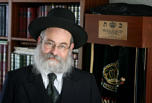 Rabbi Binyomin Jacobs (Photo credit: Meshulam/Wikipedia)