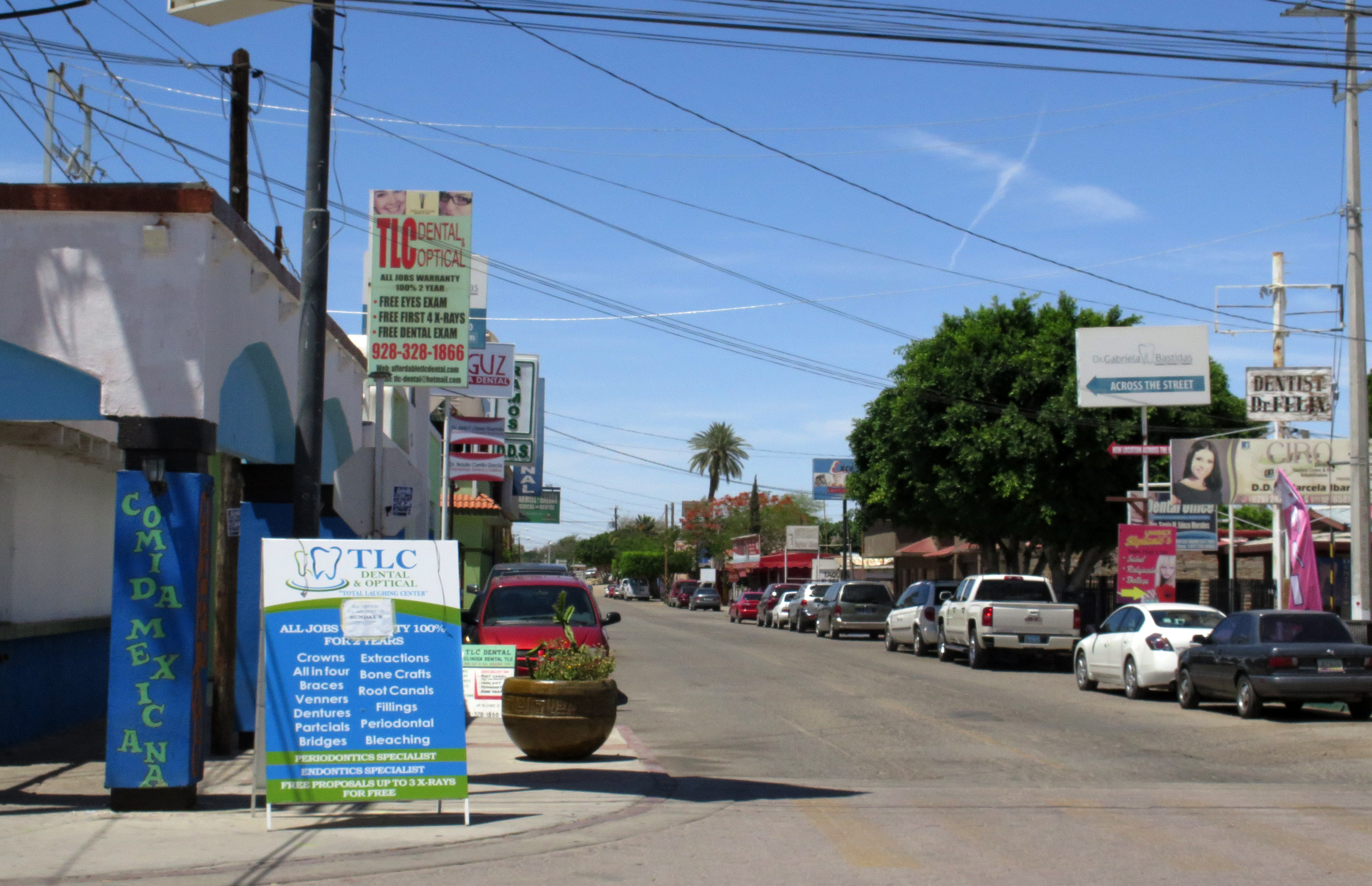los algodones, mexico - facing rising dental costs, seniors head to