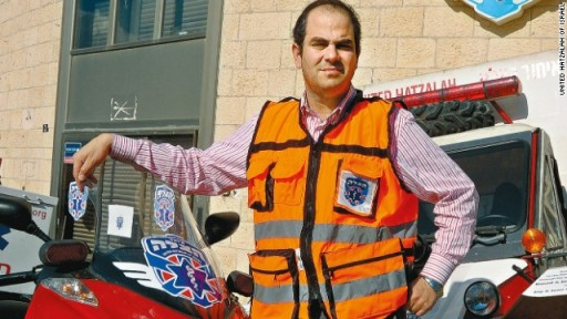 FILE - Eli Beer, president and founder of Israel's United Hatzalah