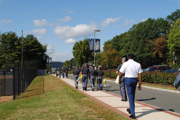 FILE -  military cadets at Cornwall  New York Military Academy
