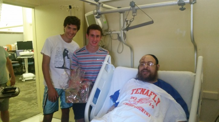 16 year old Ben Stein and 17 year old Michael Silverman (Shimon Gifter/VINnews.com)