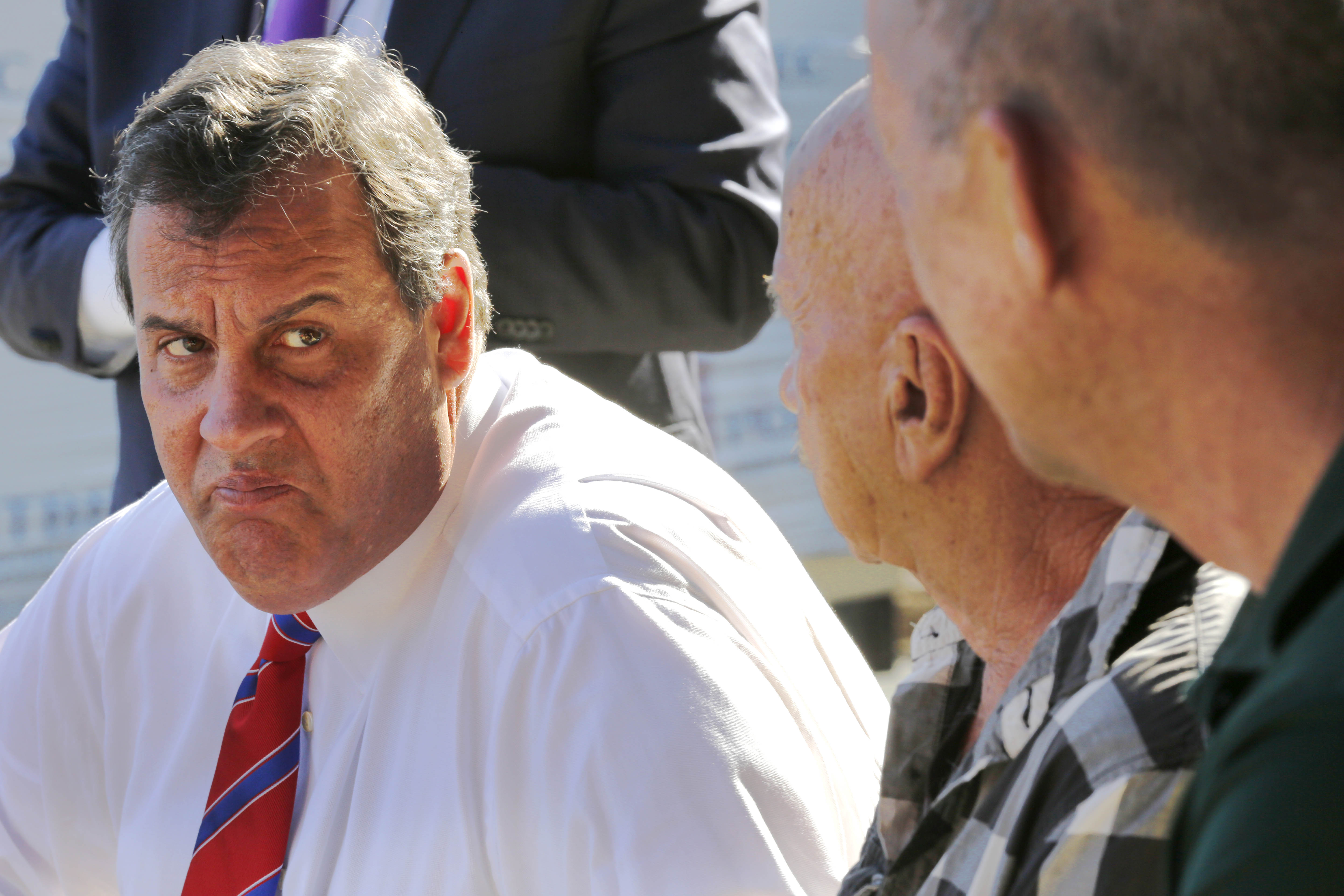In This Oct 7 2017 Photo Republican Presidential Candidate Gov Chris Christie