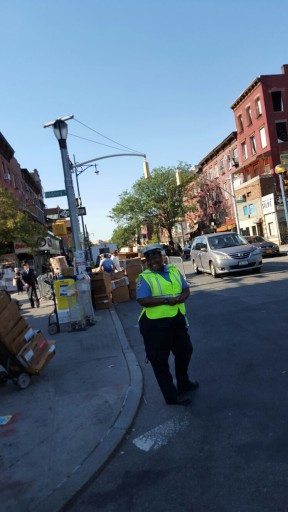 A NYC traffic police is seen in the Williamsburg section of Brooklyn Oct. 18, 2015. VINnews.com