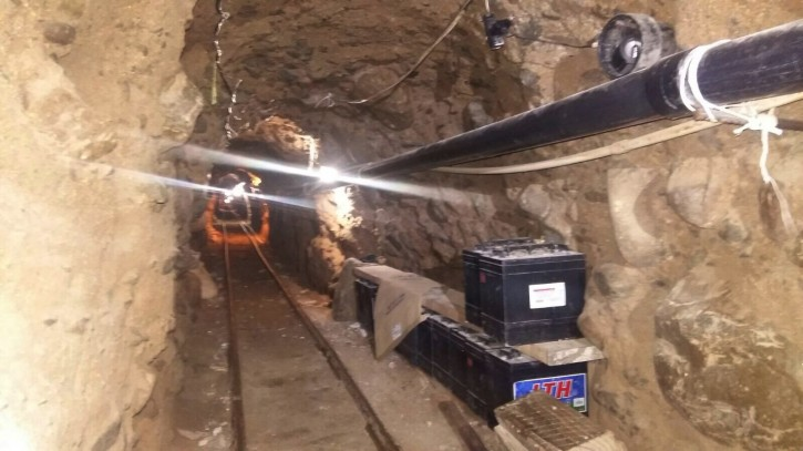 San Diego – Major Drug Tunnel Found On US-Mexico Border In California