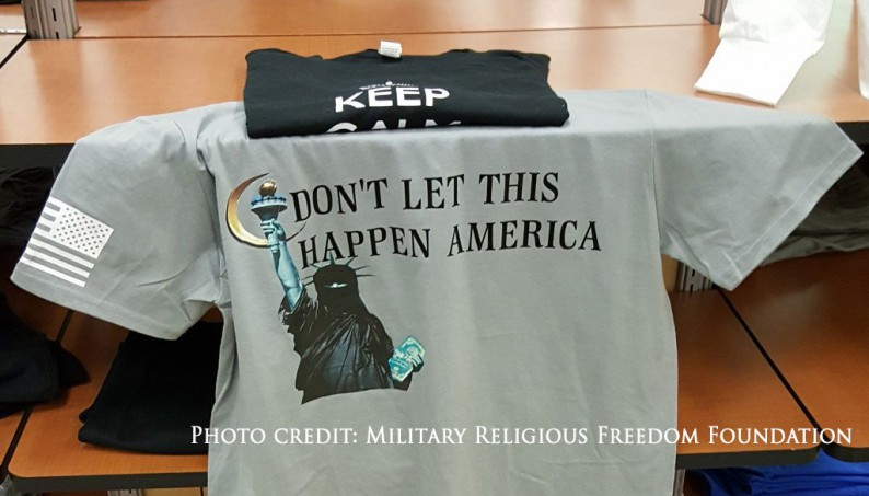 Denver vendor on army post told to stop selling anti for T shirt printing in colorado springs