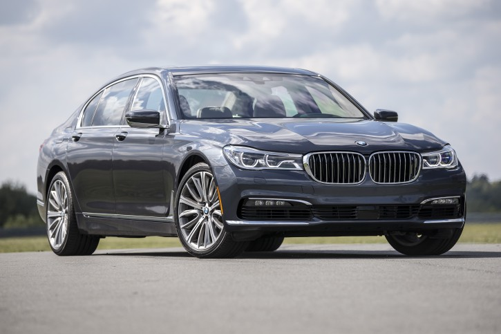 This undated photo provided by BMW North America shows the BMW 7 Series automobile. The 2016 BMW 7-Series takes driving a large, luxury sedan to a new level of sporty performance, connectivity and pampering. (Chris Tedesco/BMW North America via AP)
